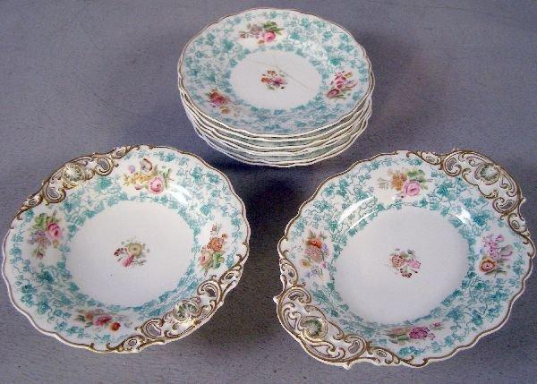 7: 19th century Copeland part dessert service