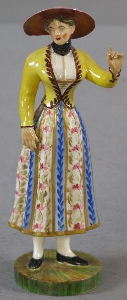11: 19th century Worcester figure of a woman