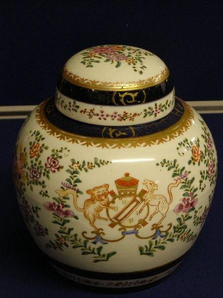 12: Samson Ginger jar and cover