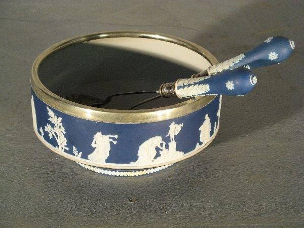20: 19th century Adams jasperware bowl