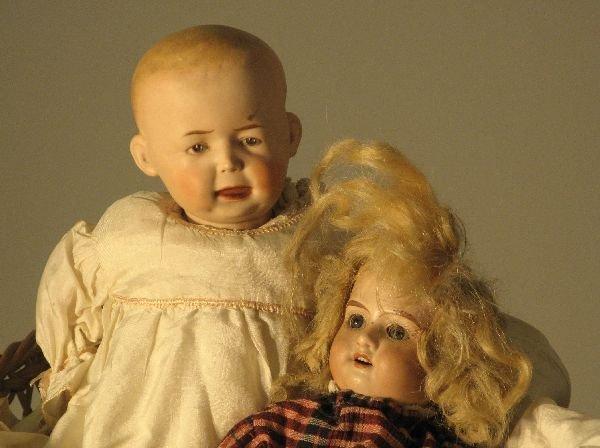 893: Two German dolls