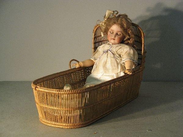 896: Simon Halbig, bisque headed doll