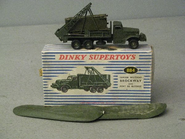 900: Dinky Supertoys 884 Camion Militare Brockway