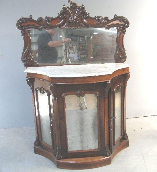 13: Victorian rosewood credenza