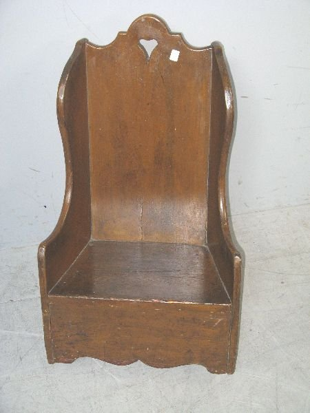 15: Country-made early 18th century child's