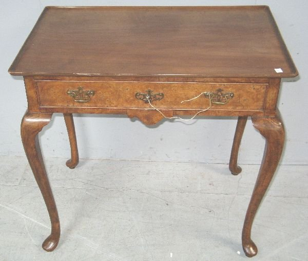 23: Dish-topped rectangular mahogany table