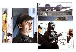 Star Wars - Ten signed items including p