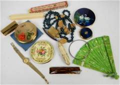 A large quantity of costume jewellery, including,