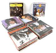 140+ 1980's-90's 7 inch Vinyl Records, many unplay