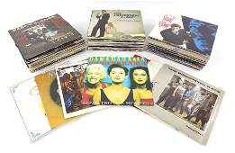 Approx 120 7 inch Vinyl Records, most 1970's-80's,