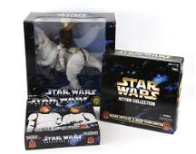 Star Wars Collector Series - Three large boxed Ken