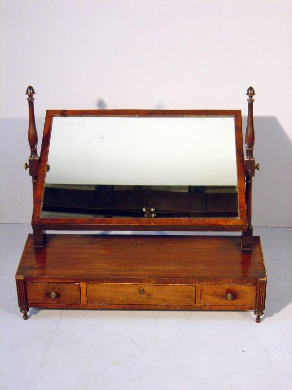 15: 19th century mahogany adjustable dressing table mir