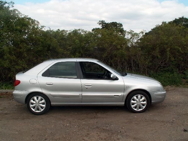 1: Citroen LX 8V car with reg no JMG 31