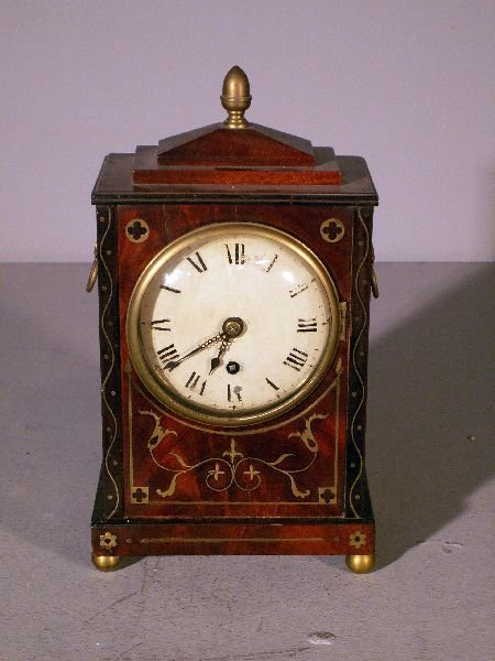 179: Late Regency mantel clock