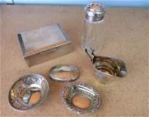 Edward VII silver cream jug, Birmingham, 1902, silver c