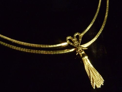 Gold Collar Necklace