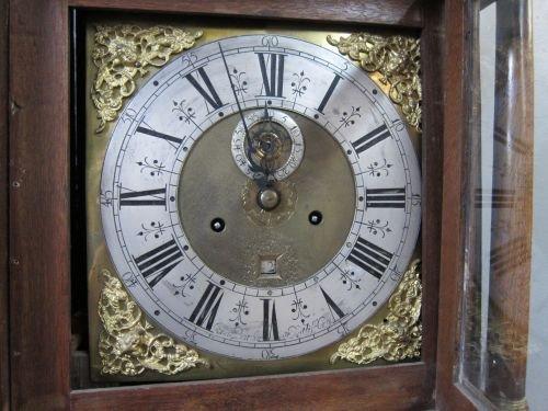 18th century oak longcase clock by Jonas Barber of Ratc - 2