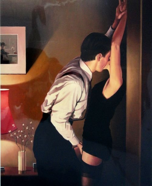 Jack Vettriano 'Game On' Limited edition print on paper
