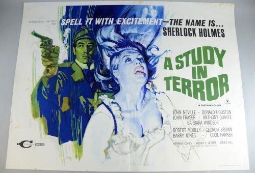 Sherlock Holmes, A Study In Terror (1965) British Quad
