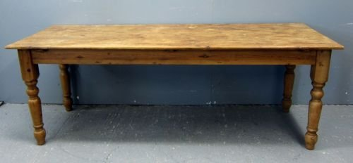 "Large pine table 30""x84""x30"""