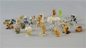Collection of small ceramics to include Wade whimsies