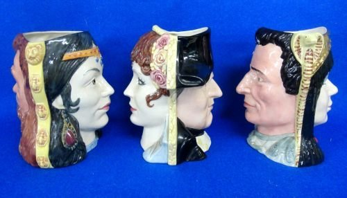 Three Royal Doulton Character Jugs from 'The Star Cross