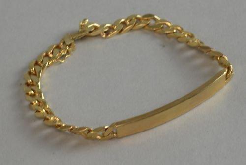 Italian 9ct gold bracelet 19 grams