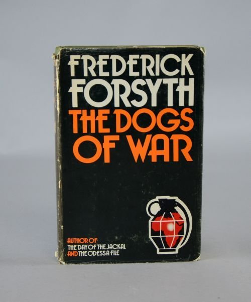 Frederick Forsyth 'The Dogs of War', 1st edition