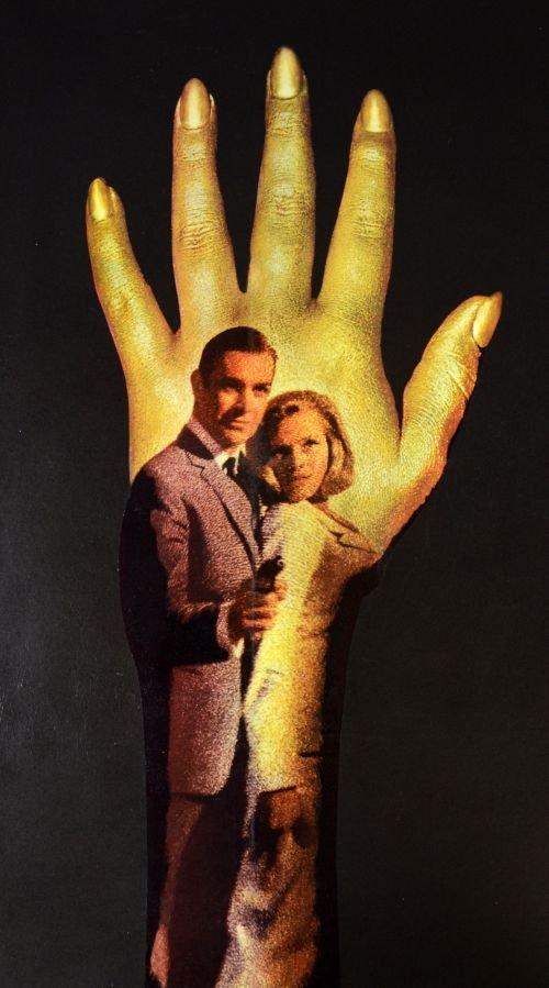 James Bond, Goldfinger (1964) British Quad film poster, - 2