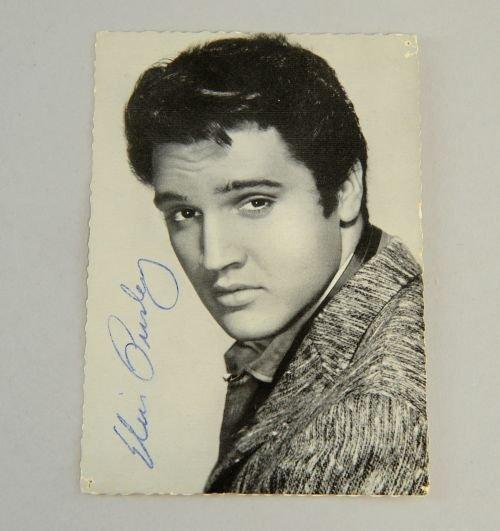 Elvis Presley (1935-77) American Singer, vintage signed