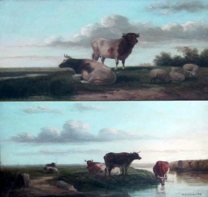 Thomas Sydney Cooper, 1803-1902 - cattle and sheep,