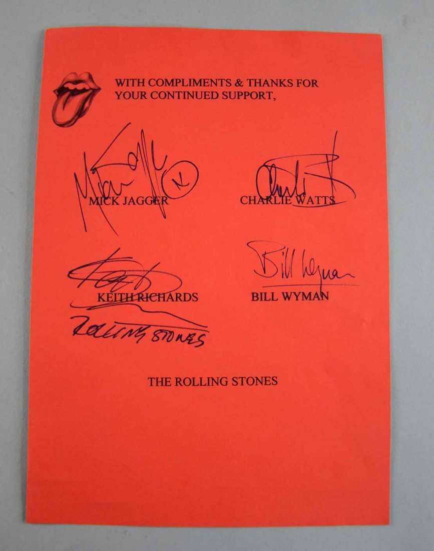 The Rolling Stones, English Rock Band, a set of later