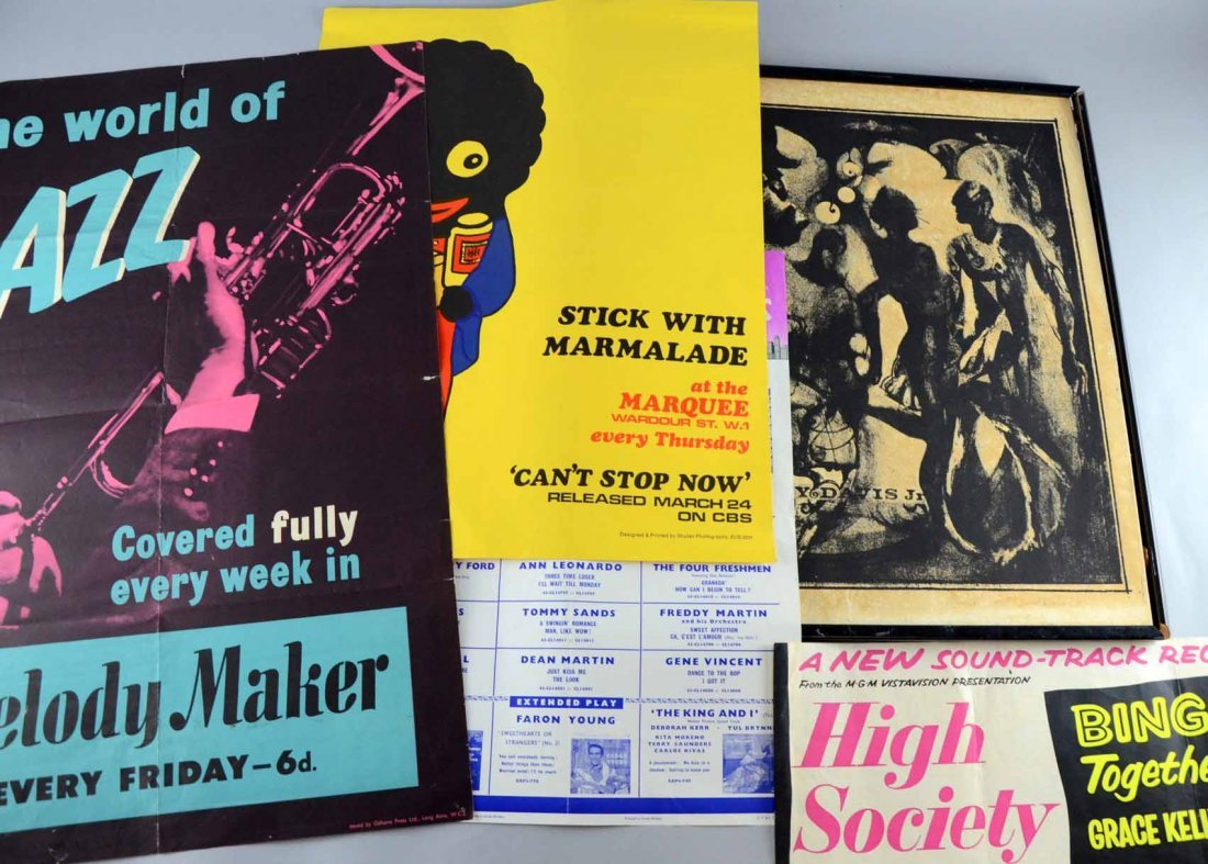 Music Memorabilia including Melody Maker 'The World of