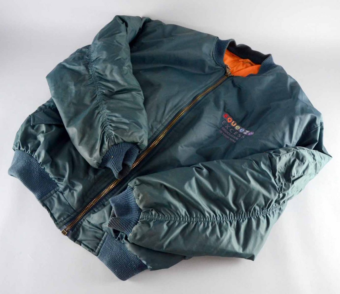 Squeeze, British music band, a jacket from the Excess