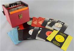 A collection of 55 7-inch promotion copy DEMO records