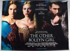 The Other Boleyn Girl 2008 British Quad film poster
