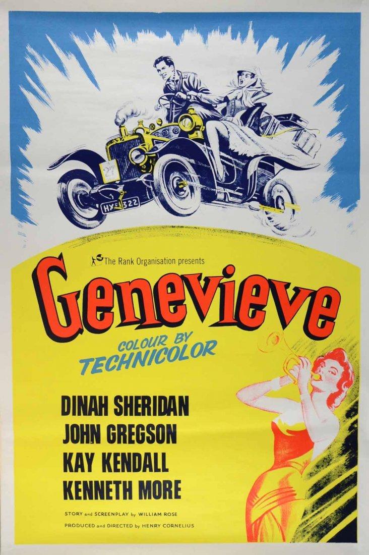 Genevieve (1953) British One sheet film poster,