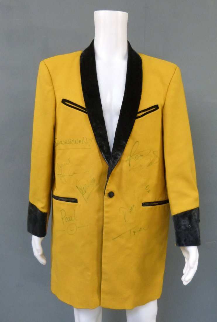 Showaddywaddy: a stage jacket worn by lead vocalist