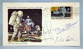 Apollo XI, FDC 'First Man On The Moon' signed by the