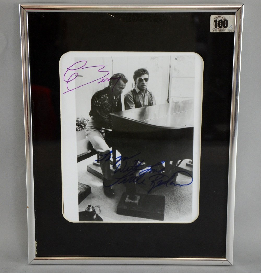 A promotional photograph of Little Richard & Chuck
