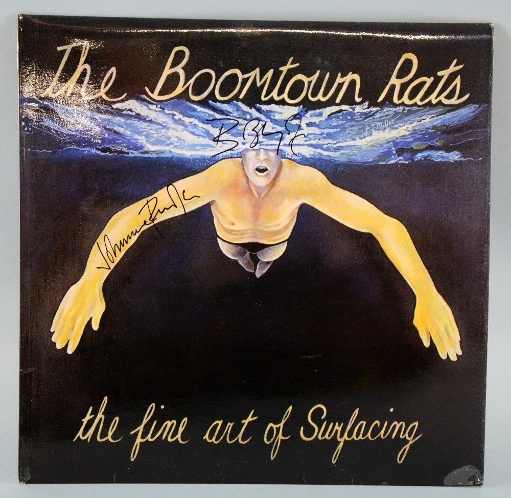 The Boomtown Rats, The Fine Art of Surfacing LP record