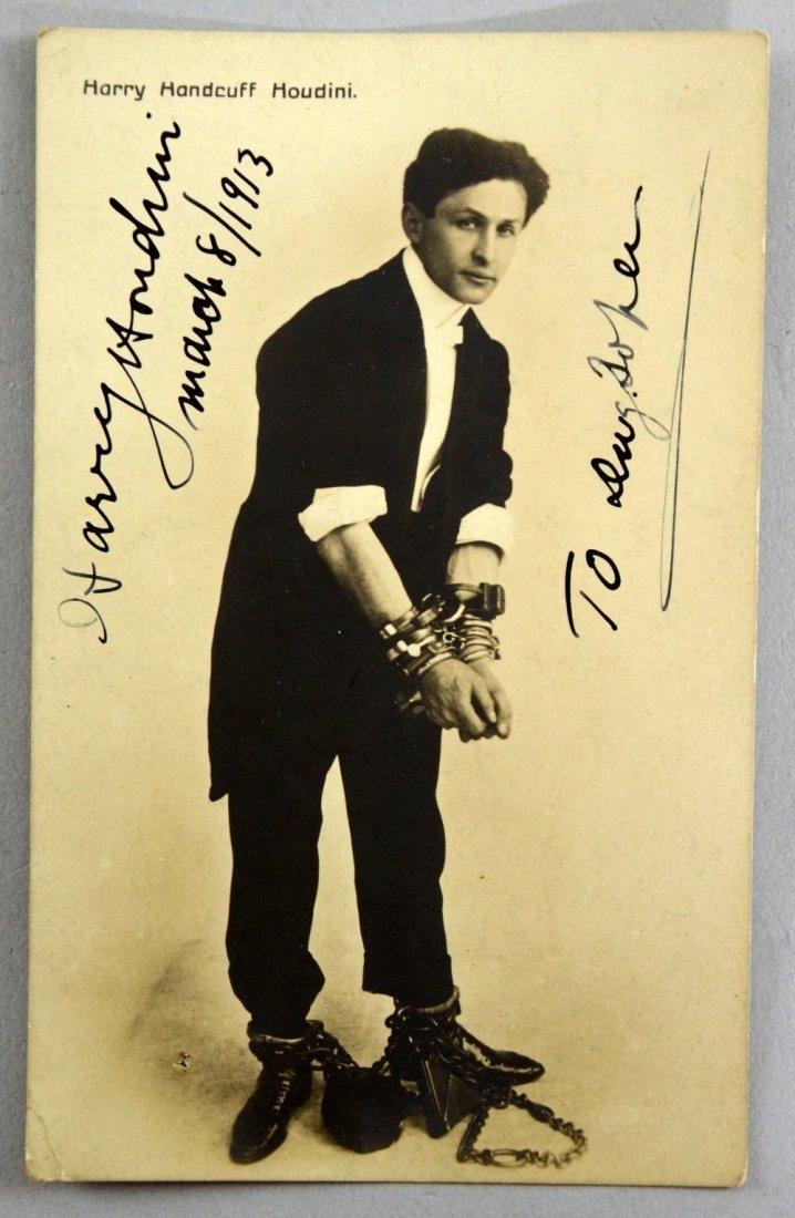 Harry Houdini (1874-1926) Hungarian-American Magician &
