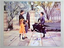 Mary Poppins, a colour photograph signed by Julie