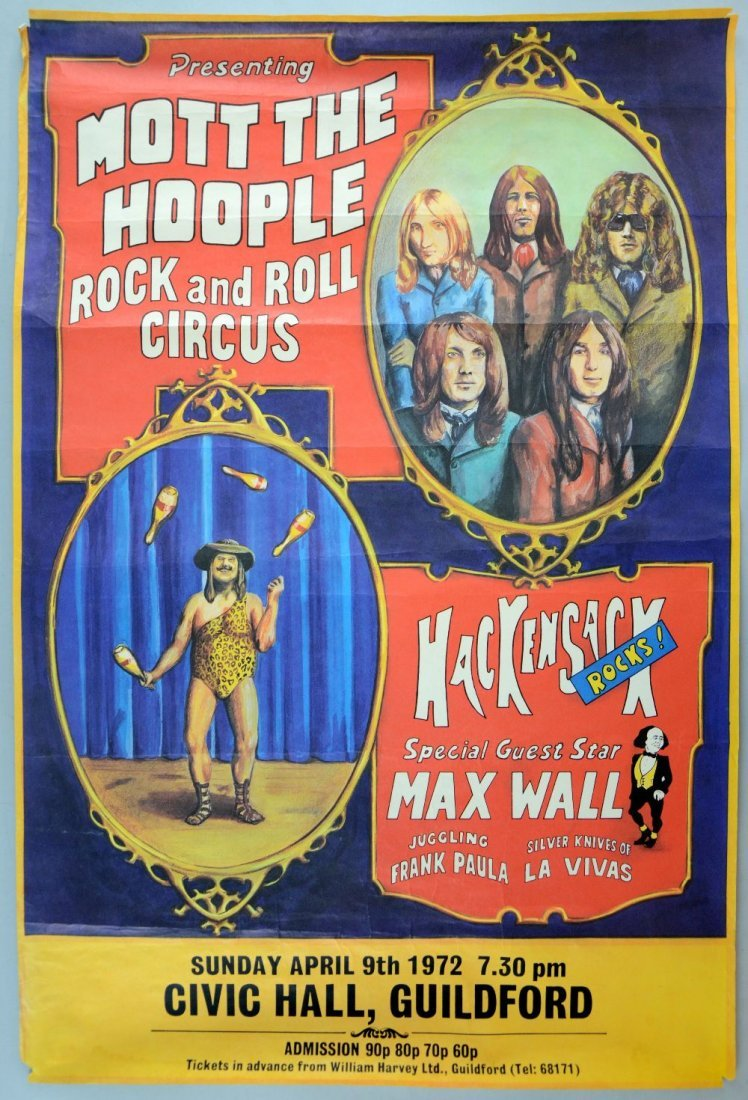 Mott The Hoople Rock & Roll Concert Circus with special