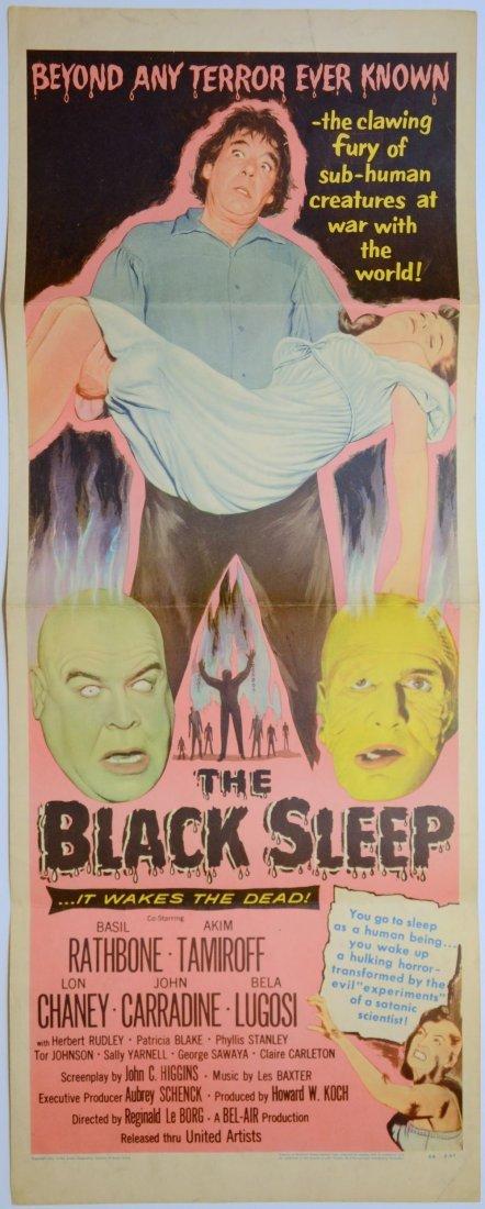 The Black Sleep (1956) US Insert film poster, starring