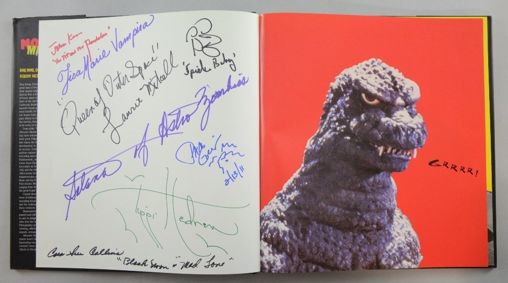 Monster Madness, a signed colour book by over 40 Horror