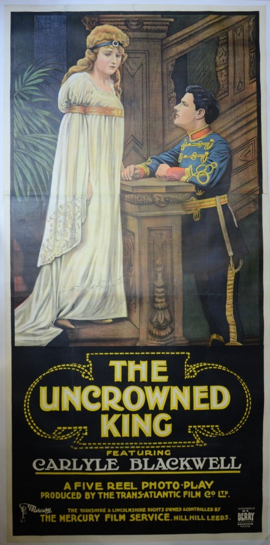 His Royal Highness (1920's) English 3 sheet film