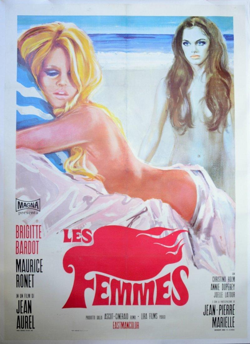 Les Femmes (Magna, 1969) Italian 2 Folio film poster,