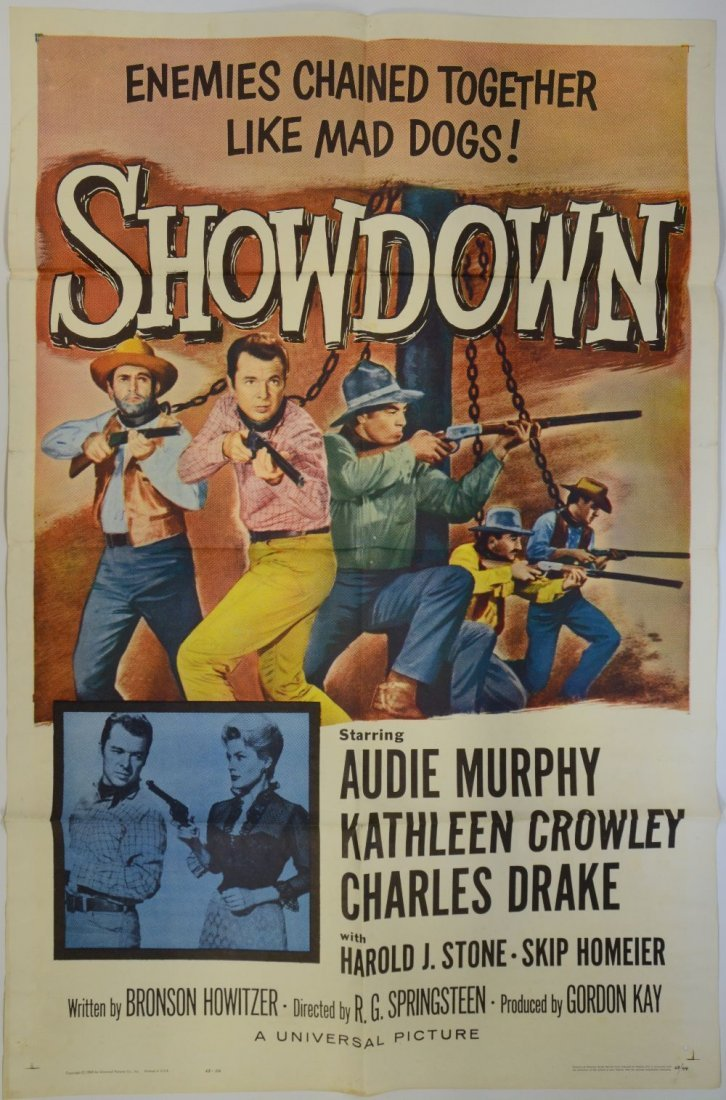 Showdown (Universal 1963) US One sheet film poster,
