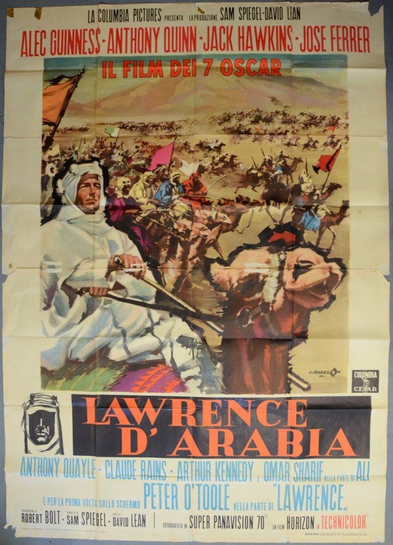 Lawrence of Arabia (Columbia, 1962) Italian 4 Foglio